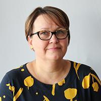 Ylivieskan seurakunnan palkkasihteeri Marjo Rättyä